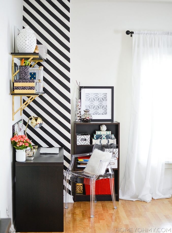 Uncategorized : Paint Accent Wall For Lovely How To Create A Inside Wall Accents Without Paint (Image 12 of 15)