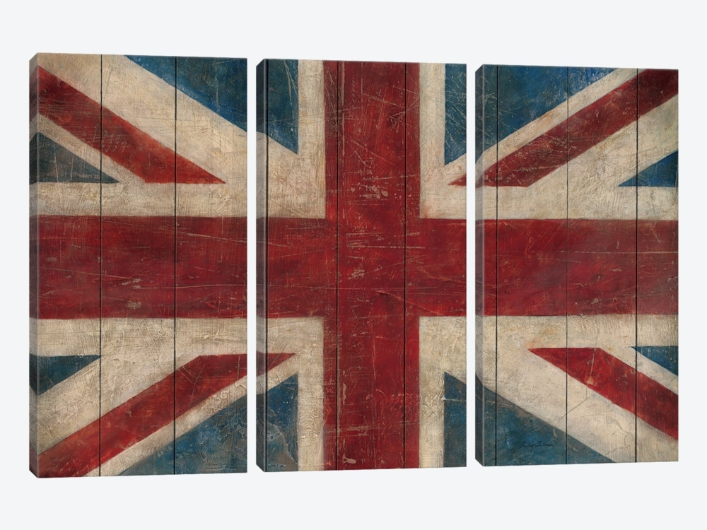 Union Jack Canvas Print Wall Art Union Jack Canvas Artwork Avery With Regard To Union Jack Canvas Wall Art (View 11 of 15)