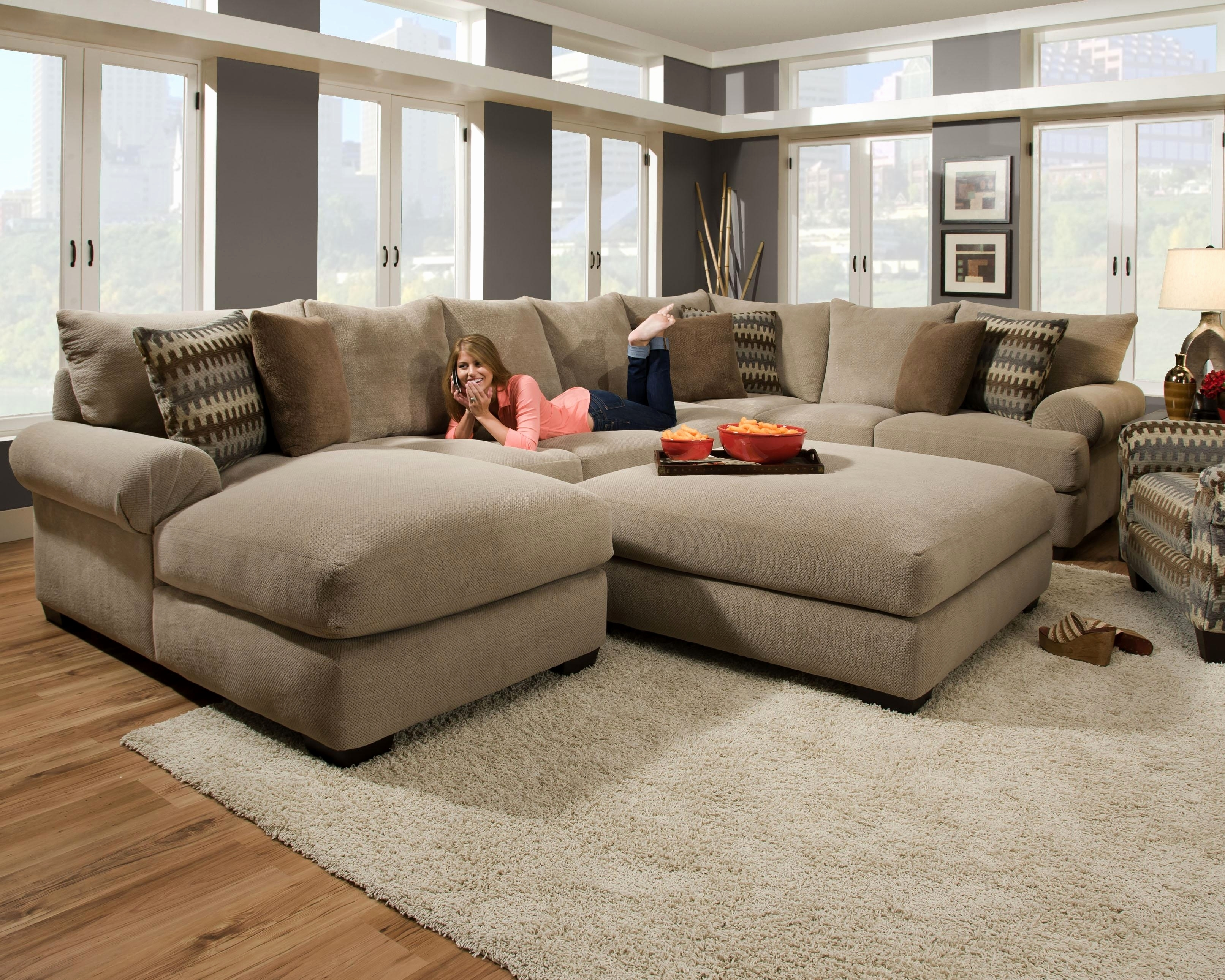 Unique Deep Seated Sectional Sofa 2018 – Couches And Sofas Ideas Within Deep Seating Sectional Sofas (Image 10 of 10)