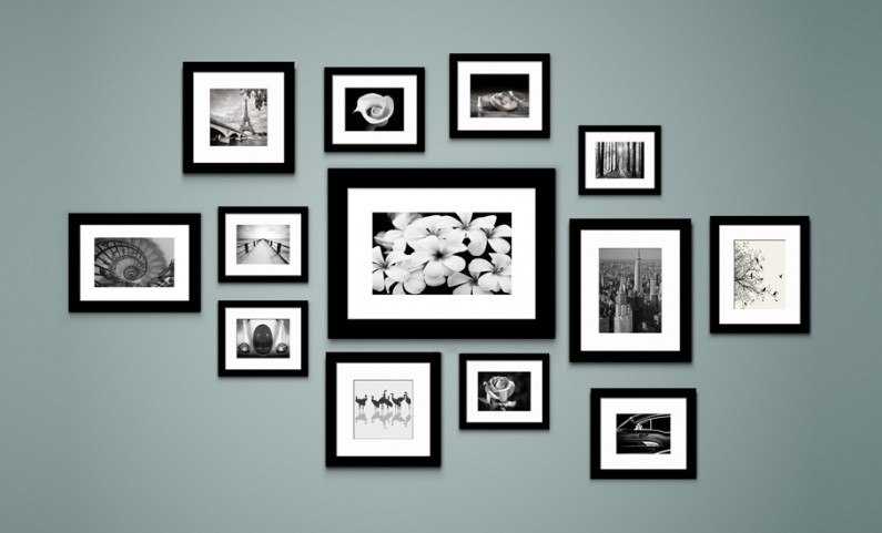 Unique Wall Picture Frames Wall Art Design Ideas Package Include Intended For Frames Wall Accents (Photo 1 of 15)