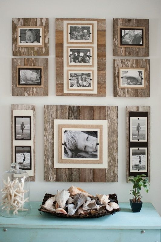 Unique Wall Picture Frames Wall Art Design Ideas Package Include With Frames Wall Accents (Photo 15 of 15)