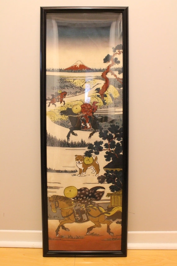 Featured Image of Japanese Fabric Wall Art