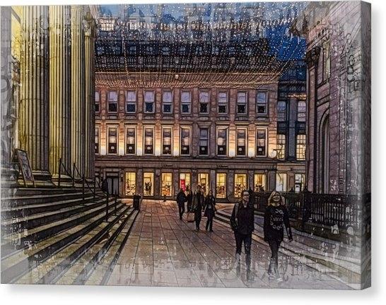 University Of Glasgow Canvas Prints (Page #2 Of 2) | Fine Art America Regarding Glasgow Canvas Wall Art (Photo 12 of 15)