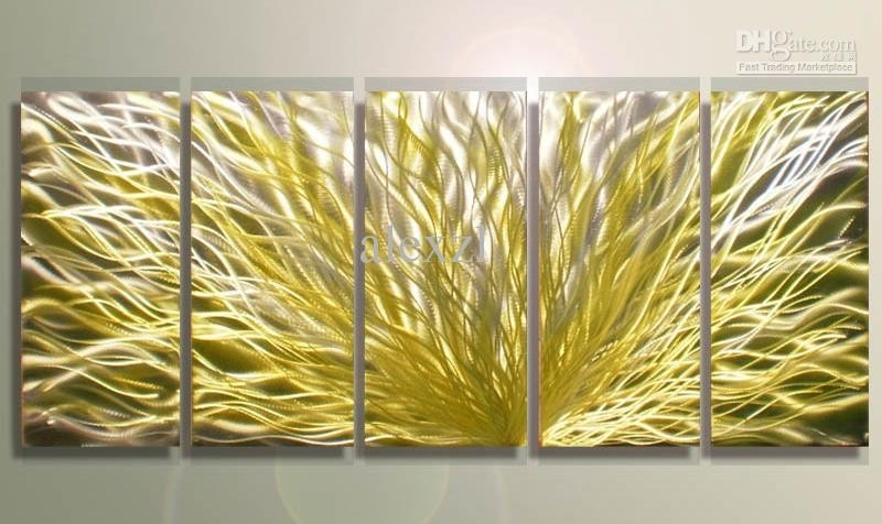Unusual Abstract Wall Art Ideas – Wall Art Design – Leftofcentrist In Yellow And Grey Abstract Wall Art (Image 11 of 15)