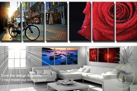 Up To 70% Off 3 Panel Canvas Wall Art Block From Rm149   Malaysia For Malaysia Canvas Wall Art (Photo 1 of 15)