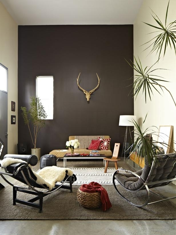 Urban Spaces: Industrial Modern Los Angeles Loft | La Lofts, Lofts In Brown Wall Accents (Image 13 of 15)