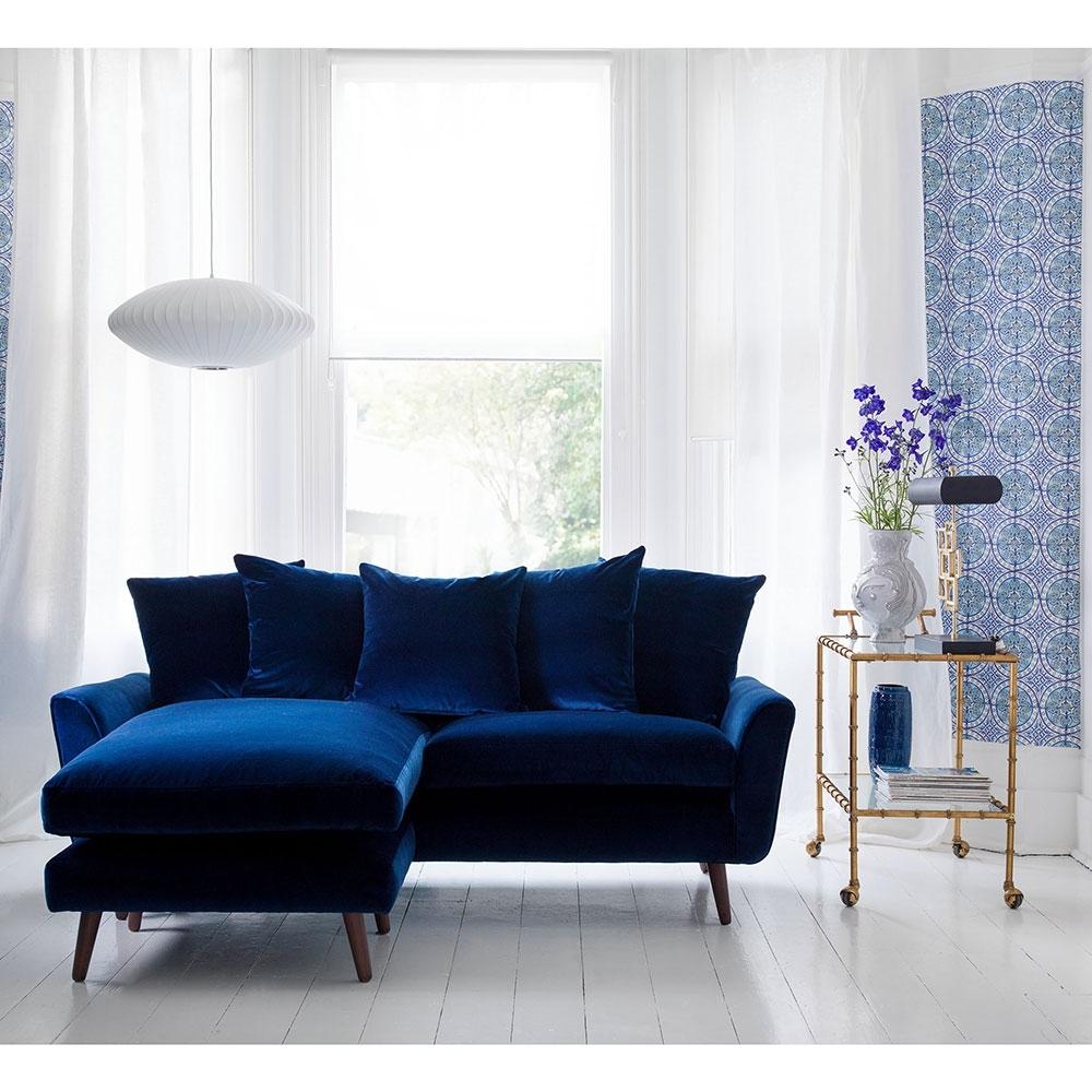 Velvet Sofas – Our Pick Of Best | Ideal Home Regarding Velvet Sofas (View 2 of 10)