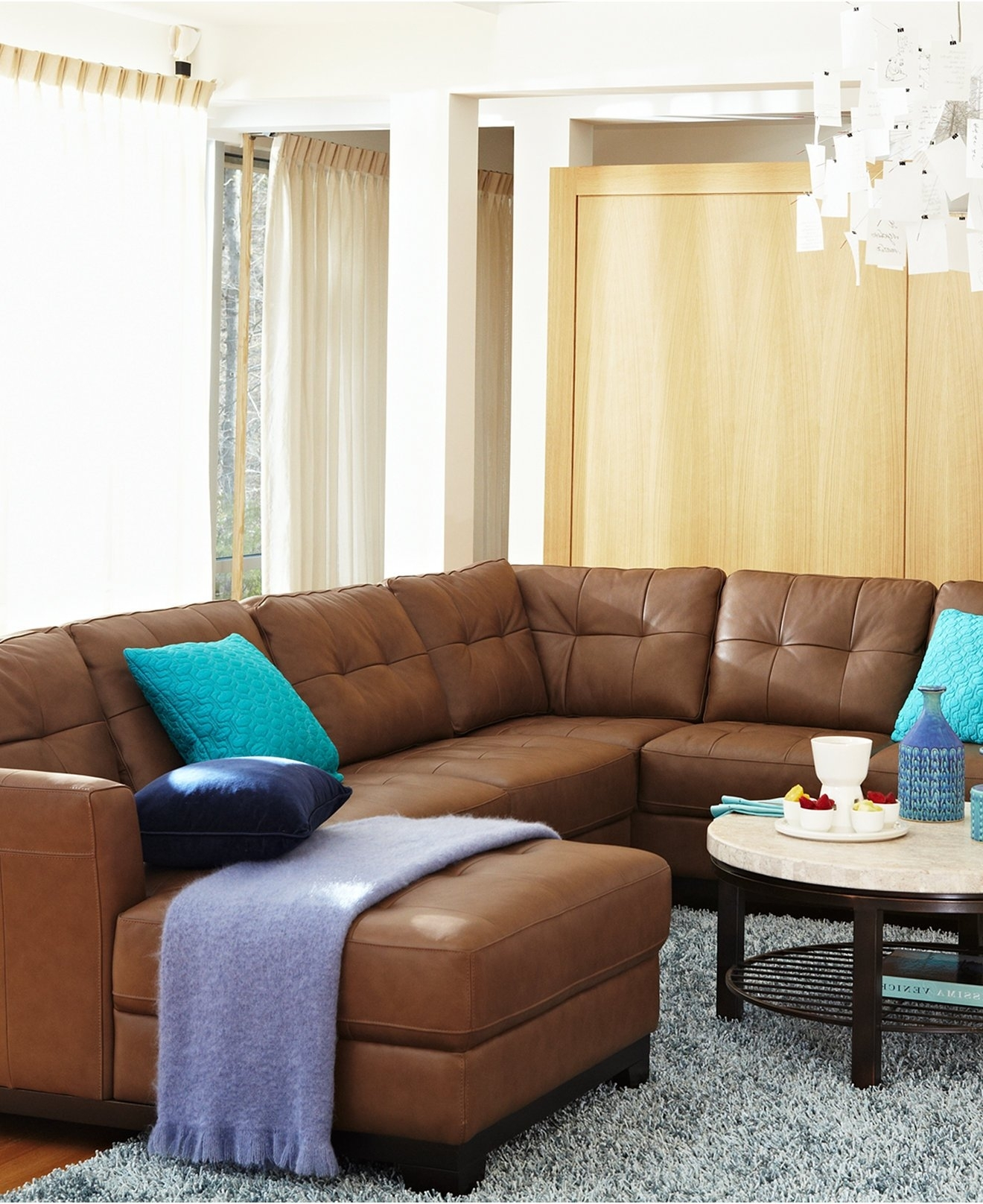 Versatile Macys Leather Sofa Sofas & Sectionals Brown Leather Sofa For Macys Leather Sectional Sofas (Image 9 of 10)