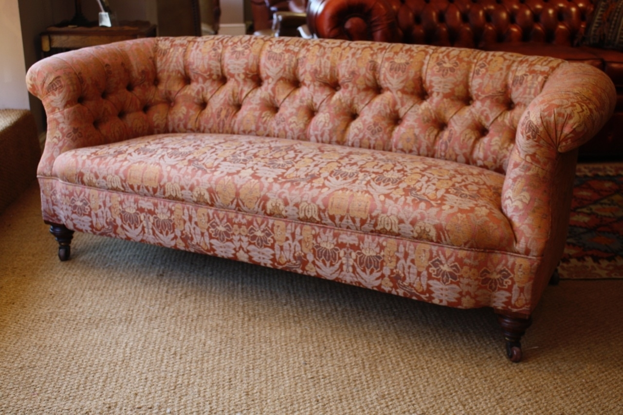 Victorian 'ibsen' Antique Sofa, Leather Chairs Of Bath, Antique In Antique Sofas (View 3 of 10)