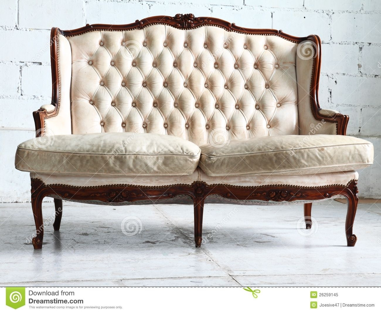 Vintage Sofa In The Room Royalty Free Stock Photo – Image: 26259145 With Regard To Vintage Sofas (Image 8 of 10)