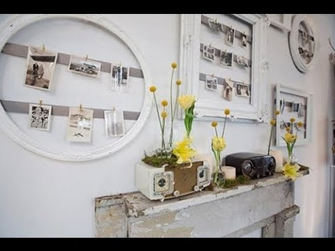 Vintage Wall Decor~Vintage Airplane Wall Decor – Youtube With Regard To Vintage Wall Accents (Image 13 of 15)