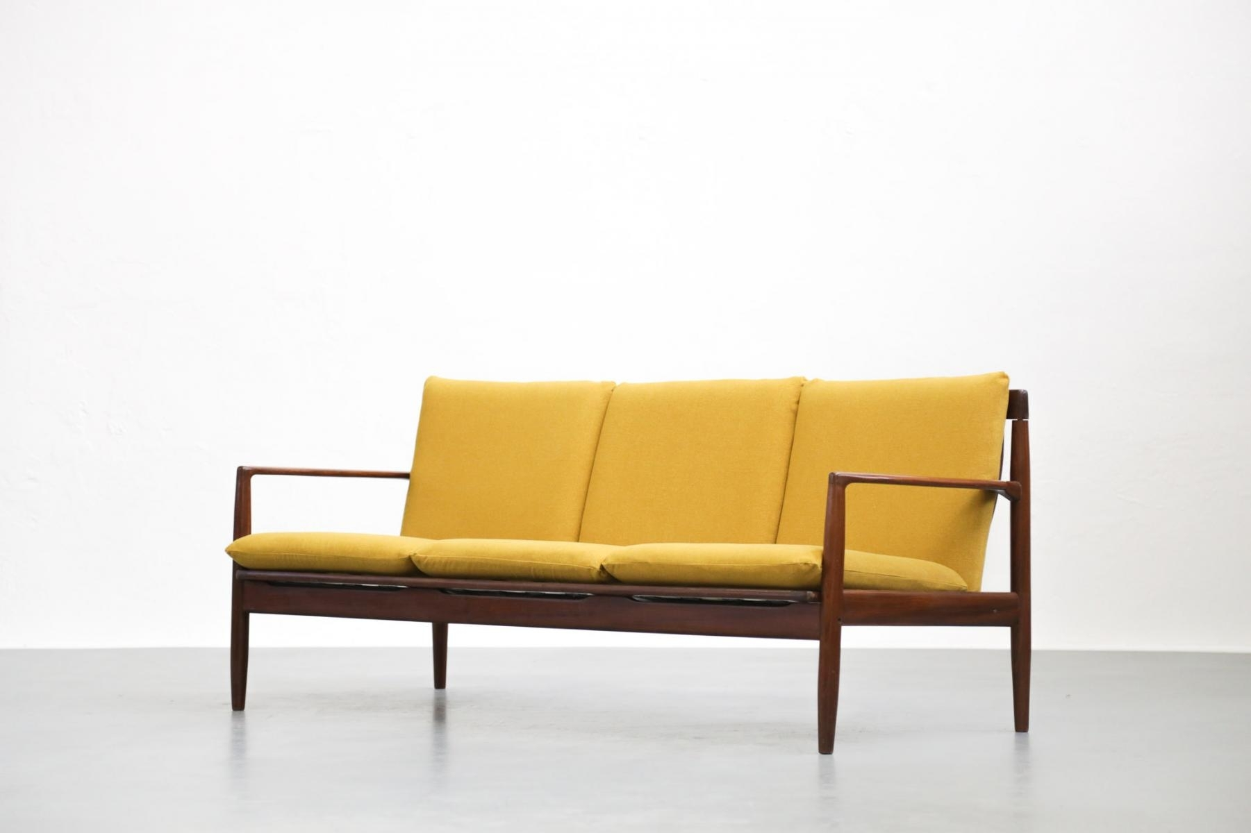 Vintage Yellow Sofagrete Jalk For Sale At Pamono Within Vintage Sofas (Image 10 of 10)