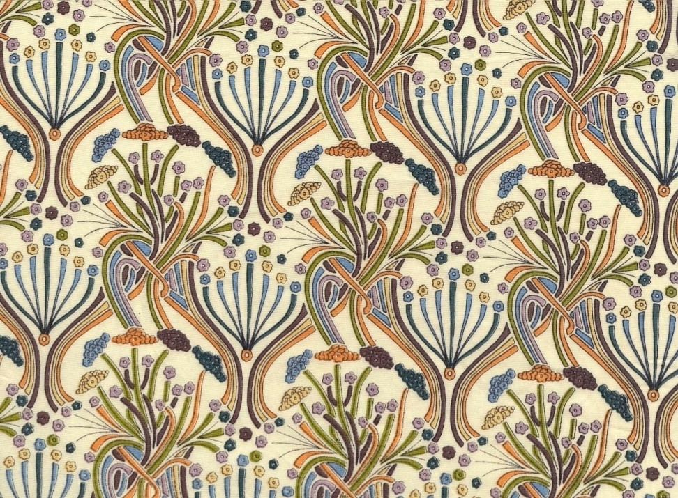 Volute Art Deco Wall Paper – Google Search | Print | Pinterest With Regard To Art Deco Wall Fabric (Image 14 of 15)