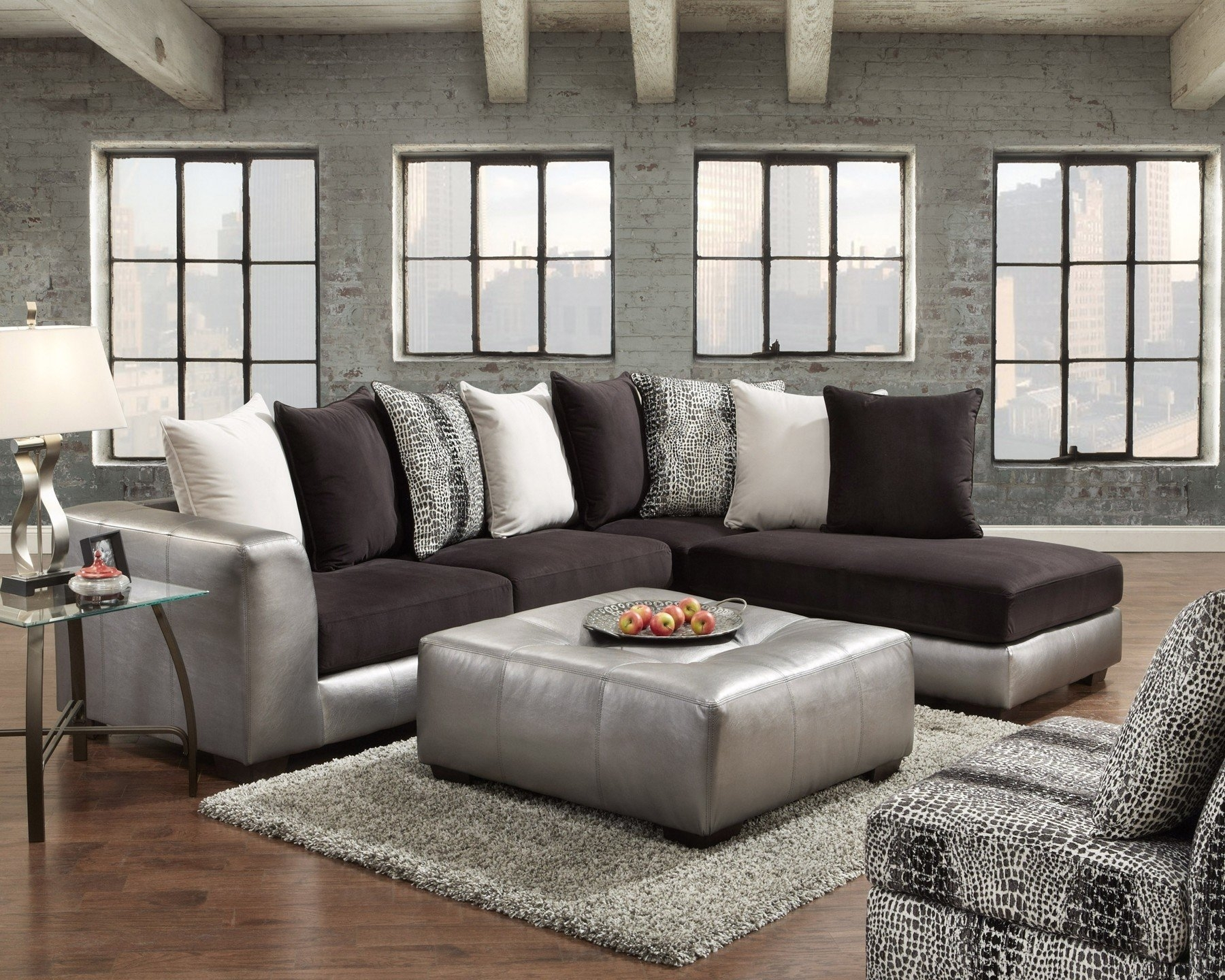 Wade Logan Dillard Sectional & Reviews | Wayfair Regarding Dillards Sectional Sofas (Image 10 of 10)