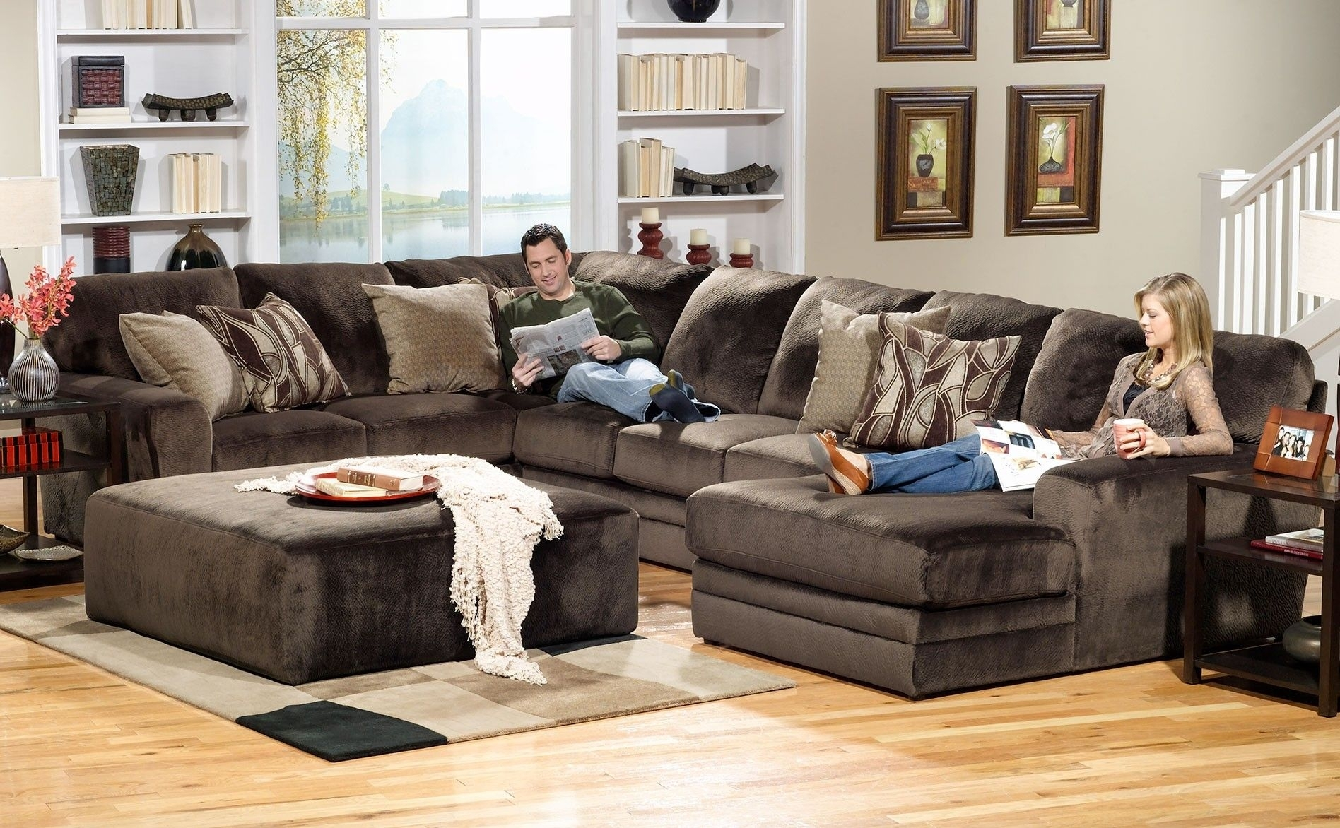 Wakefield 3 Piece Sectional | Sectionals | Raleigh Furniture | Home With Raleigh Sectional Sofas (Image 10 of 10)