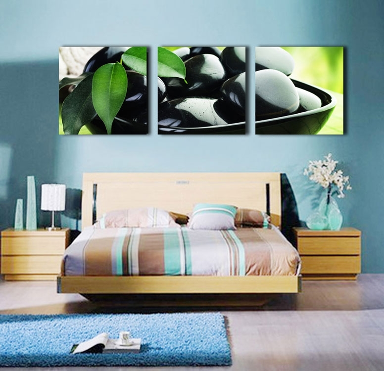Wall Art: 10 The Best Idea Personalized Canvas Wall Art Pertaining To Leaves Canvas Wall Art (Image 14 of 15)