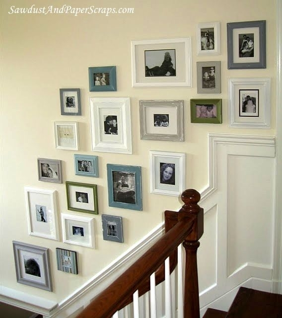 Wall Art – 20 Ways To Mod Podge Canvas – Mod Podge Rocks Throughout Mod Podge Fabric Wall Art (Image 14 of 15)