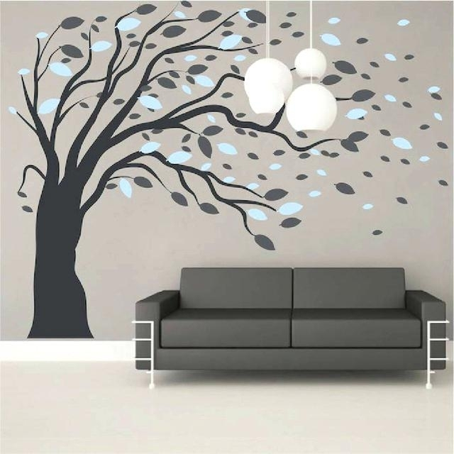 Wall Art Adhesive Superb Self Adhesive Wall Decoration Sticker With Adhesive Art Wall Accents (View 15 of 15)