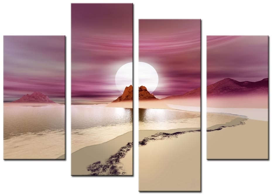 Wall Art: Adorable Galleries About Pink Canvas Wall Art Pink And Regarding Pink Canvas Wall Art (View 1 of 15)