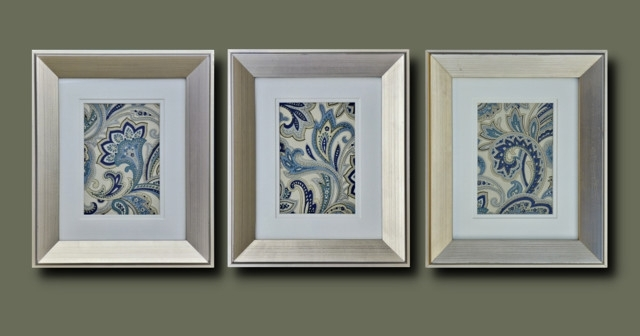Wall Art: Amazing Gallery Of Silver Framed Wall Art Silver Framed Pertaining To Fabric Wall Art Frames (Image 12 of 15)