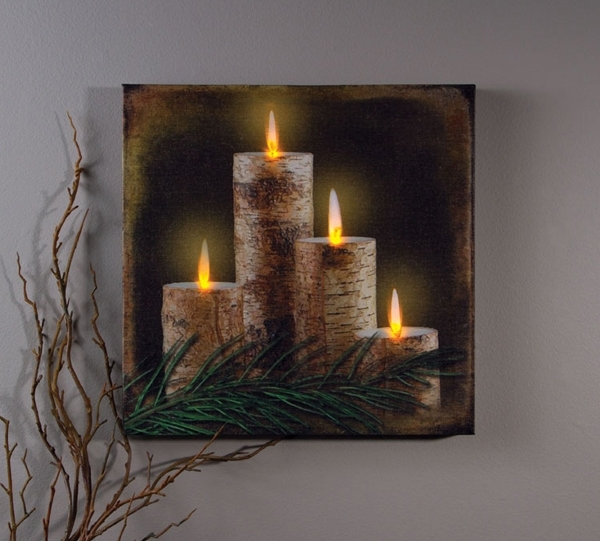 Featured Image of Lighted Canvas Wall Art