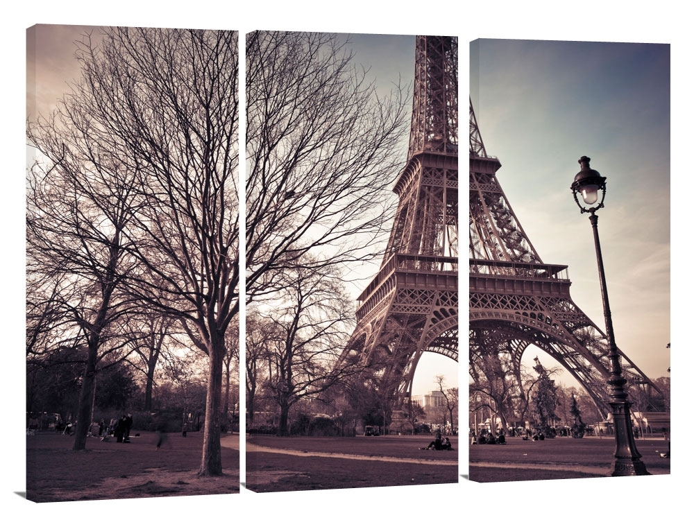 Featured Image of Canvas Wall Art Of Paris