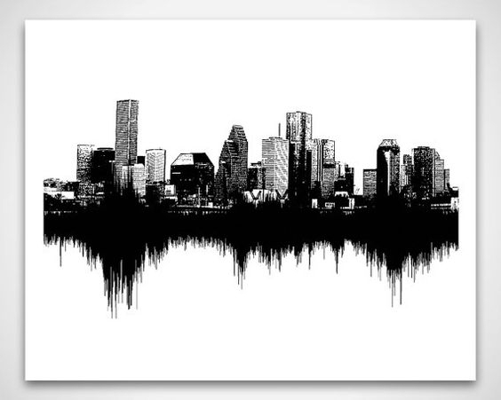 Wall Art: Astounding Seattle Wall Art Seattle Wall Decor, Seattle Inside Houston Canvas Wall Art (View 7 of 15)