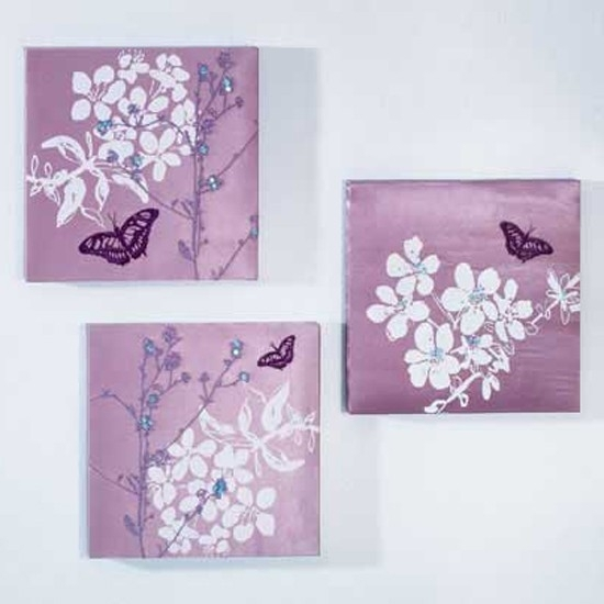 Wall Art At Home Bargains: Wall Art Raised Silver Glass Discs Intended For Homebase Canvas Wall Art (View 4 of 15)