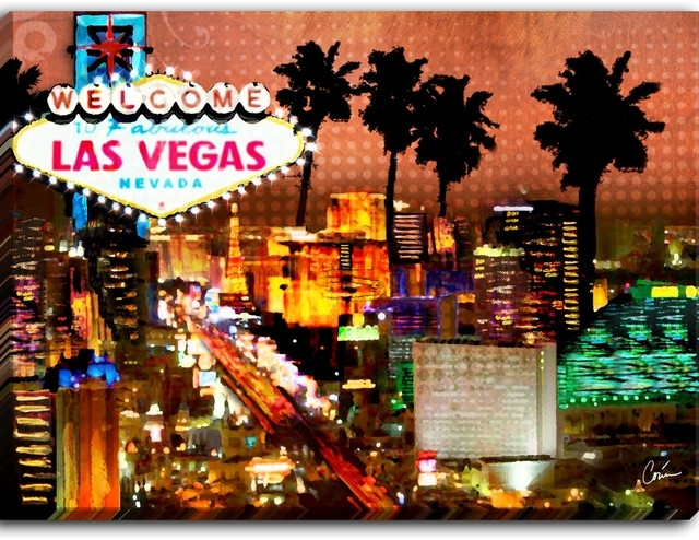 Wall Art: Beautiful Pictures Gallery Of Las Vegas Wall Art Las With Las Vegas Canvas Wall Art (View 6 of 15)