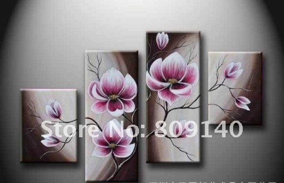 Wall Art: Best Pictures Flower Canvas Wall Art Floral Pictures In Purple Flowers Canvas Wall Art (Image 15 of 15)