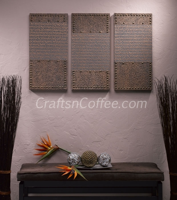 Wall Art Decor: Awesome Textured Wall Art Hanging Fabric, Textured In Textured Fabric Wall Art (View 10 of 15)