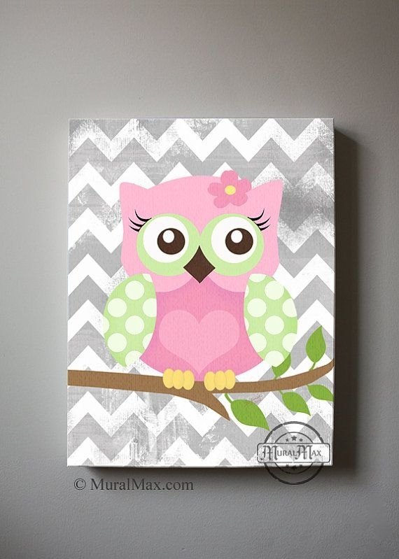 Wall Art Decor: Cramped More Canvas Wall Art For Girls Pieces Throughout Girl Canvas Wall Art (Image 11 of 15)