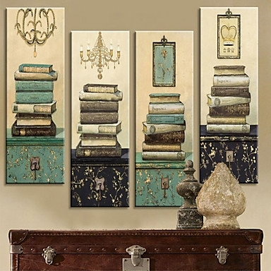 Wall Art Decor: Gallery Rectangle Vintage Canvas Wall Art With Regard To Retro Canvas Wall Art (View 6 of 15)