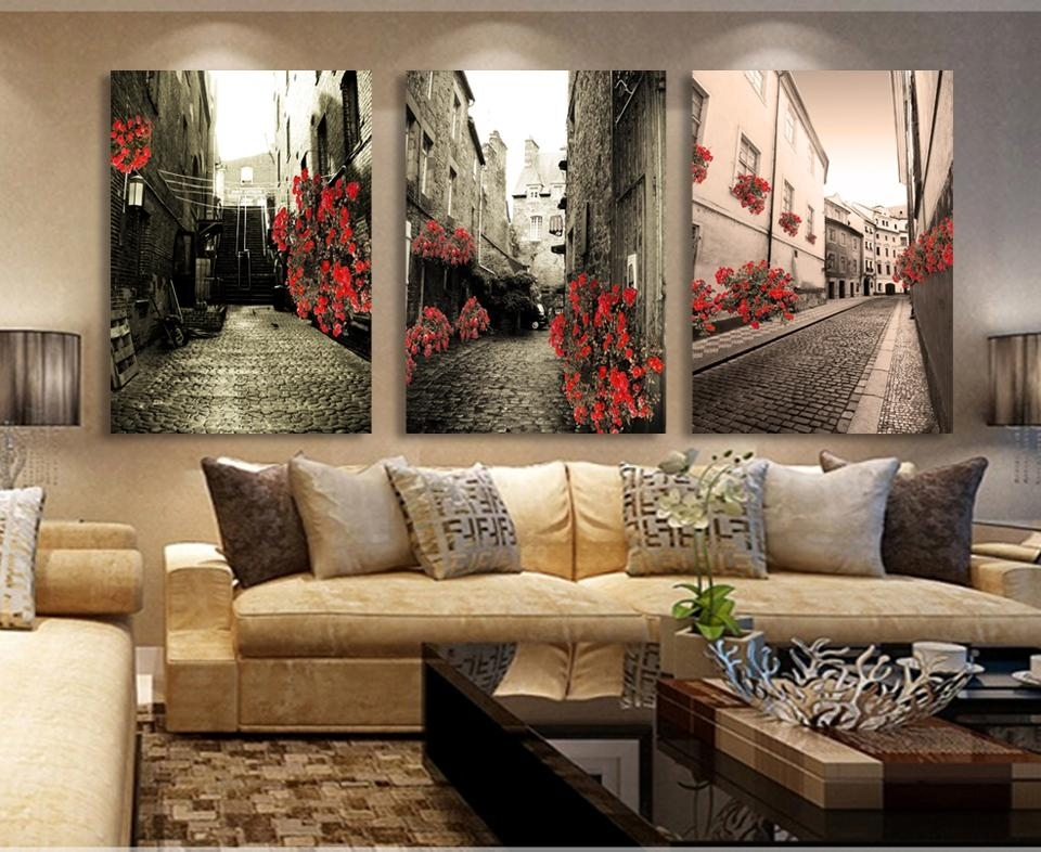 Wall Art Decor: Giveaways Painting Vintage Canvas Wall Art Popular Within Retro Canvas Wall Art (View 7 of 15)