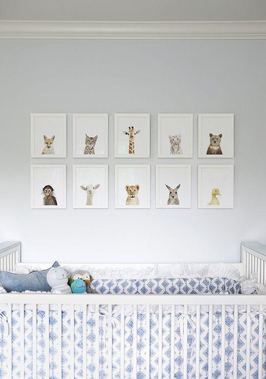 Wall Art Decor Ideas: Attractive Created Animal Nursery Wall Art Inside Nursery Wall Accents (Image 11 of 15)