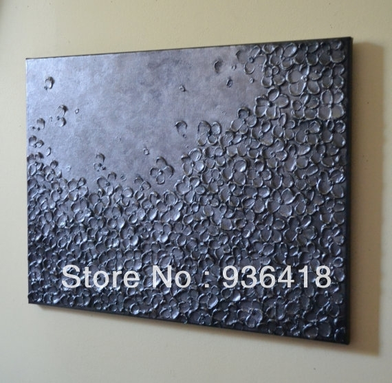 Wall Art Decor: Knife Sculpture Textured Wall Art Painting With Regard To Textured Fabric Wall Art (View 8 of 15)