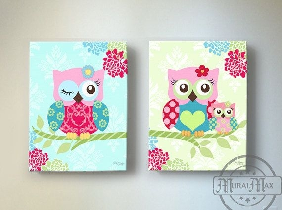 Wall Art Decor: Make Sure Canvas Wall Art For Girls Verify Combine With Girl Canvas Wall Art (Image 12 of 15)