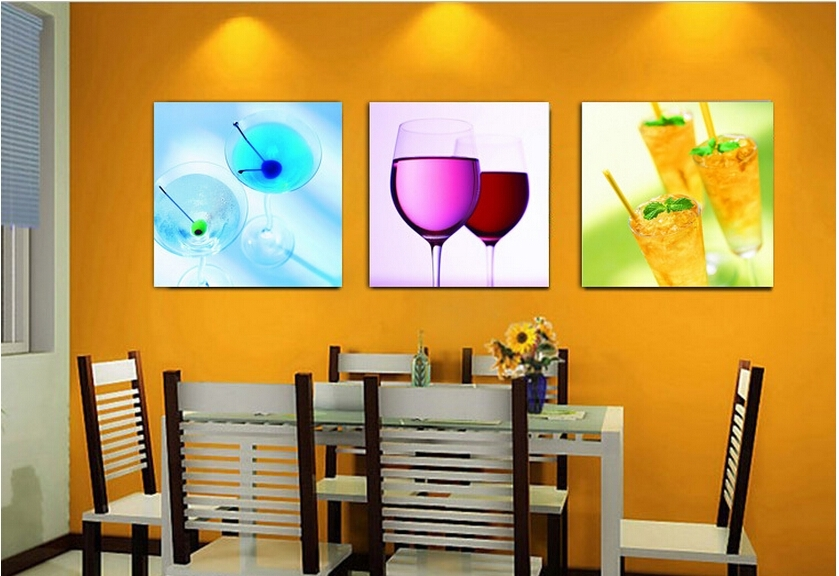 Wall Art Decor: Panels Hanging Cheap Kitchen Wall Art Abstract Throughout Abstract Kitchen Wall Art (View 9 of 15)