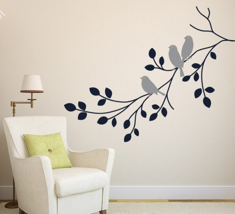 Wall Art Decor With Regard To Decorative Wall Accents Stickers With Wall Accents Stickers (Image 12 of 15)