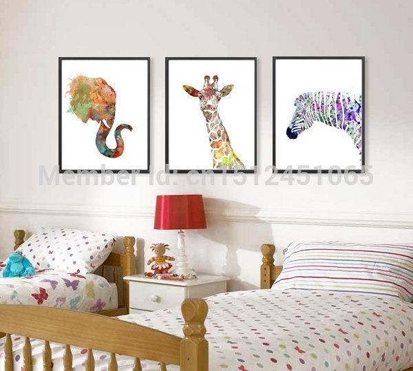 Wall Art Design: Gallery Of Wall Art Prints, Photo Print Wall Art For Giraffe Canvas Wall Art (View 15 of 15)