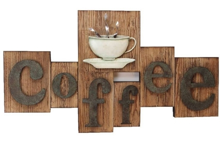 Wall Art Design Ideas: Contemporary Rustic Coffee Wall Art Motif With Regard To Coffee Canvas Wall Art (Image 15 of 15)