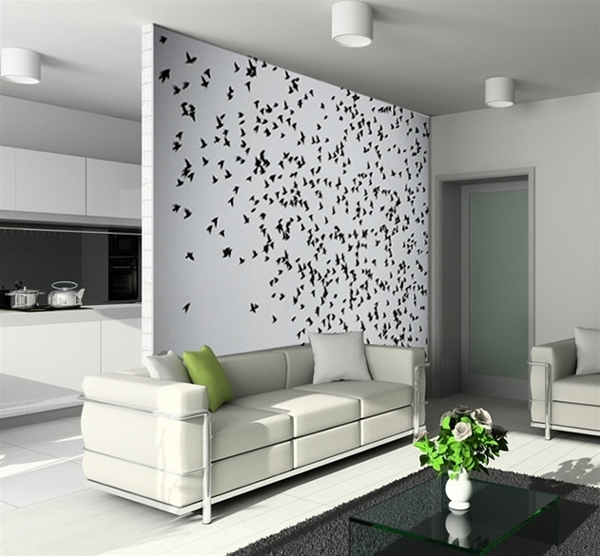 Wall Art Design Ideas: Creation Design Accent Wall Art Fabric With Wall Art Accents (View 3 of 15)