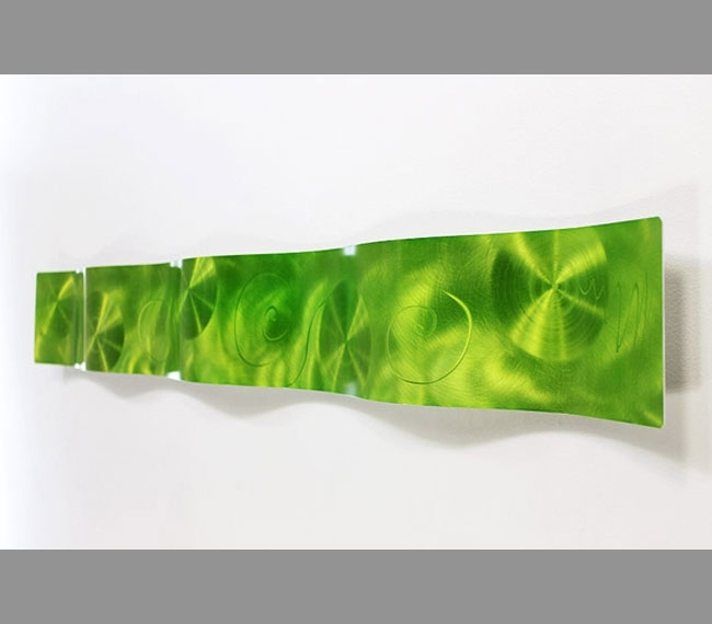 Wall Art Design Ideas: Great Lime Green Wall Art Contemporary Throughout Lime Green Abstract Wall Art (Image 14 of 15)