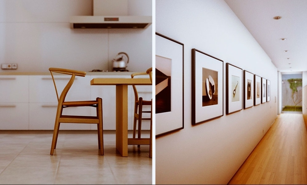 Wall Art Design Ideas: Long Alley Contemporary Framed Wall Art In Contemporary Framed Art Prints (Image 11 of 15)