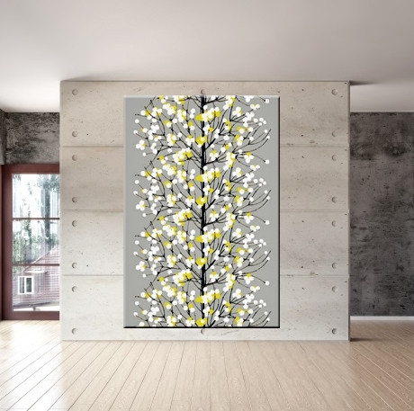 Wall Art Design Ideas: Modern Marimekko Wall Art, Finnish Wall Regarding Marimekko Fabric Wall Art (View 6 of 15)