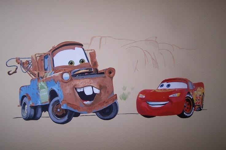Wall Art Design Ideas: Office Prestige Lightning Mcqueen Wall Art Within Cars Theme Canvas Wall Art (Image 16 of 16)