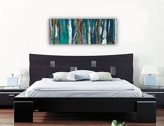 Wall Art Design Ideas: Original Painting Bedroom Wall Art Canvas Intended For Bedroom Canvas Wall Art (Image 28 of 32)