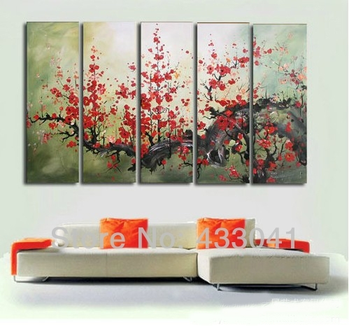 Wall Art Design: Oversized Framed Wall Art Gallery, Large Wall Art with Rectangular Canvas Wall Art