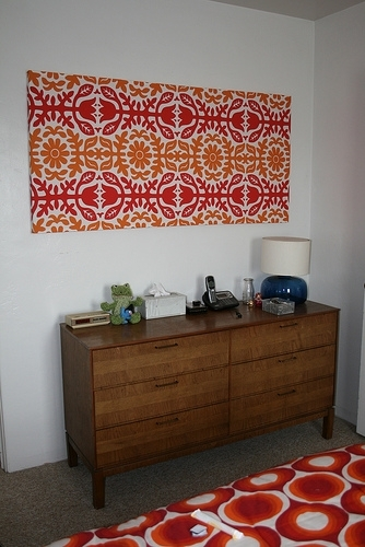 Wall Art Designs: Amazing Stretched Fabric Wall Art Simple Easy Throughout Simple Fabric Wall Art (Image 14 of 15)