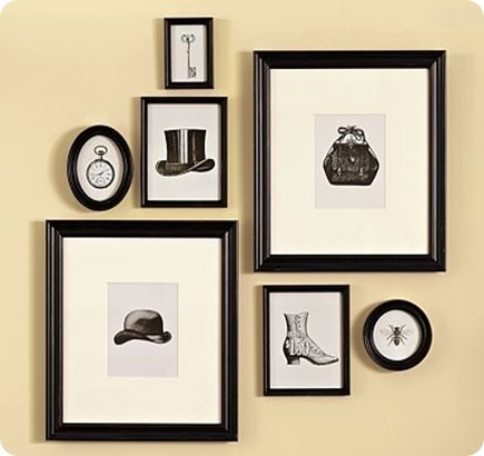 Wall Art Designs: Antique Wall Art Framed Vintage Blank And White In Vintage Wall Accents (View 8 of 15)